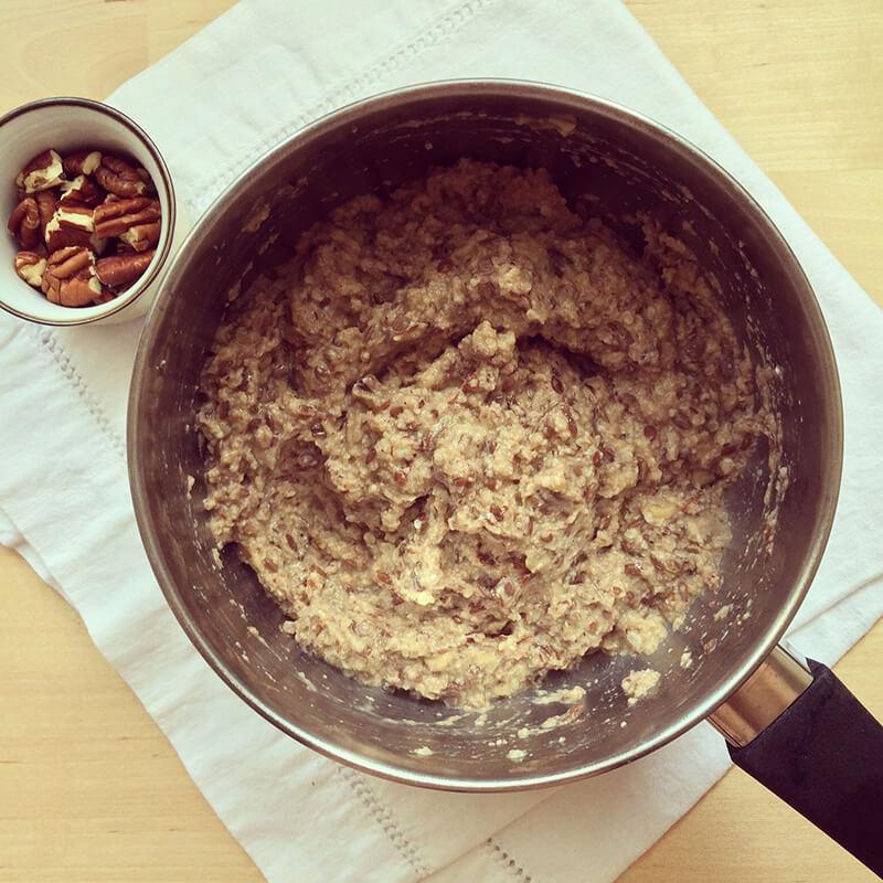 Porridge fruits rouges & noisettes