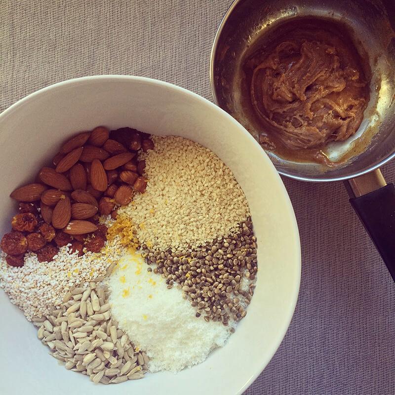 Balles protéinées avoine & beurre de cacahuètes