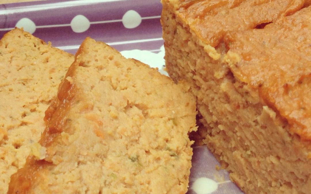 Cake de pois chiche aux carottes