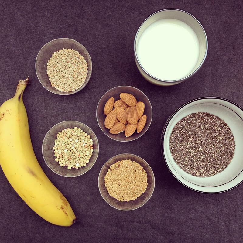 Porridge banane & patate douce