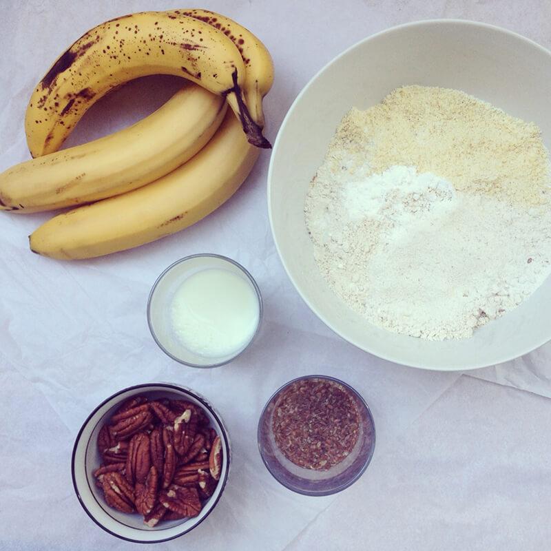 Granola banane, noisette & chocolat