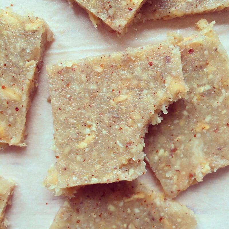 Brownies aux pommes de terre & noix de pécan