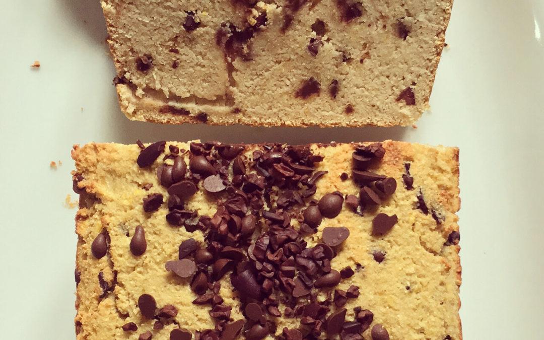 Cake à la courge aux pépites de chocolat