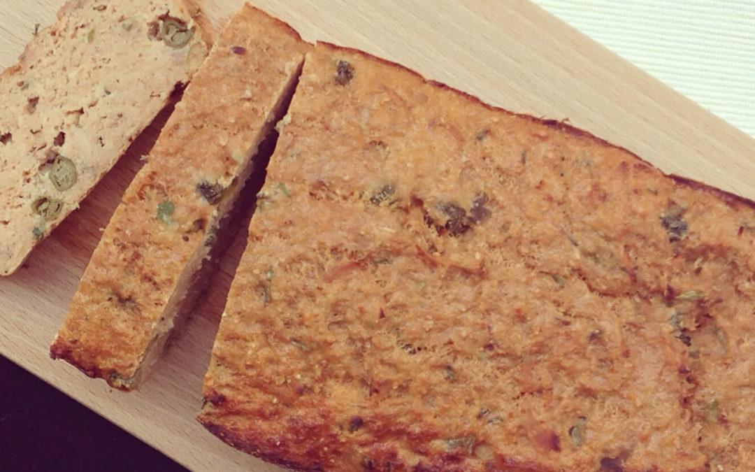 Cake au thon & son d'avoine