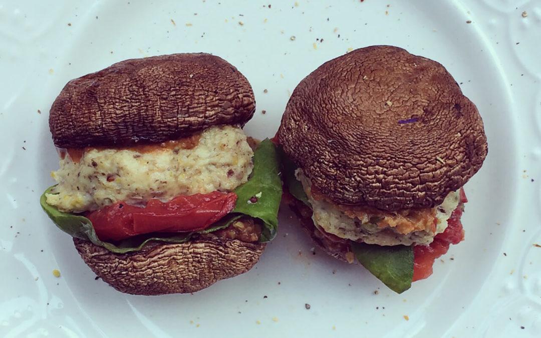 Champi-burgers dinde & feta
