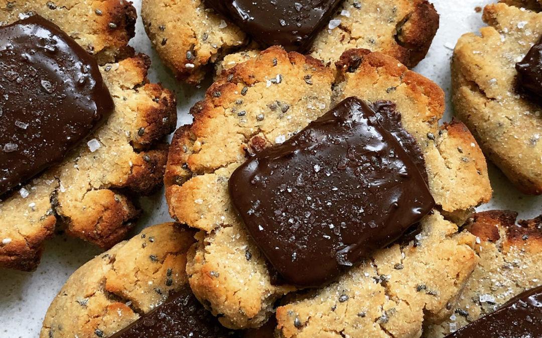 Cookies chocolat & fleur de sel