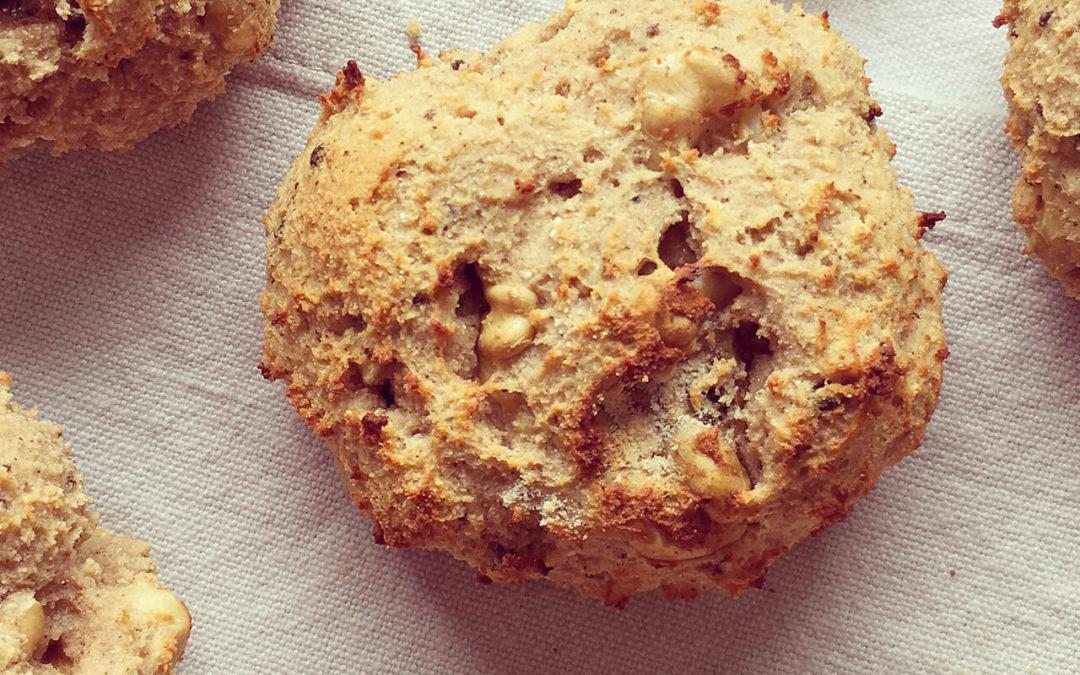 Cookies protéinés aux noix