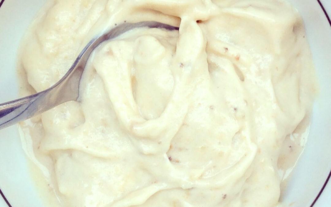 Crème glacée banane & beurre de cacahuètes