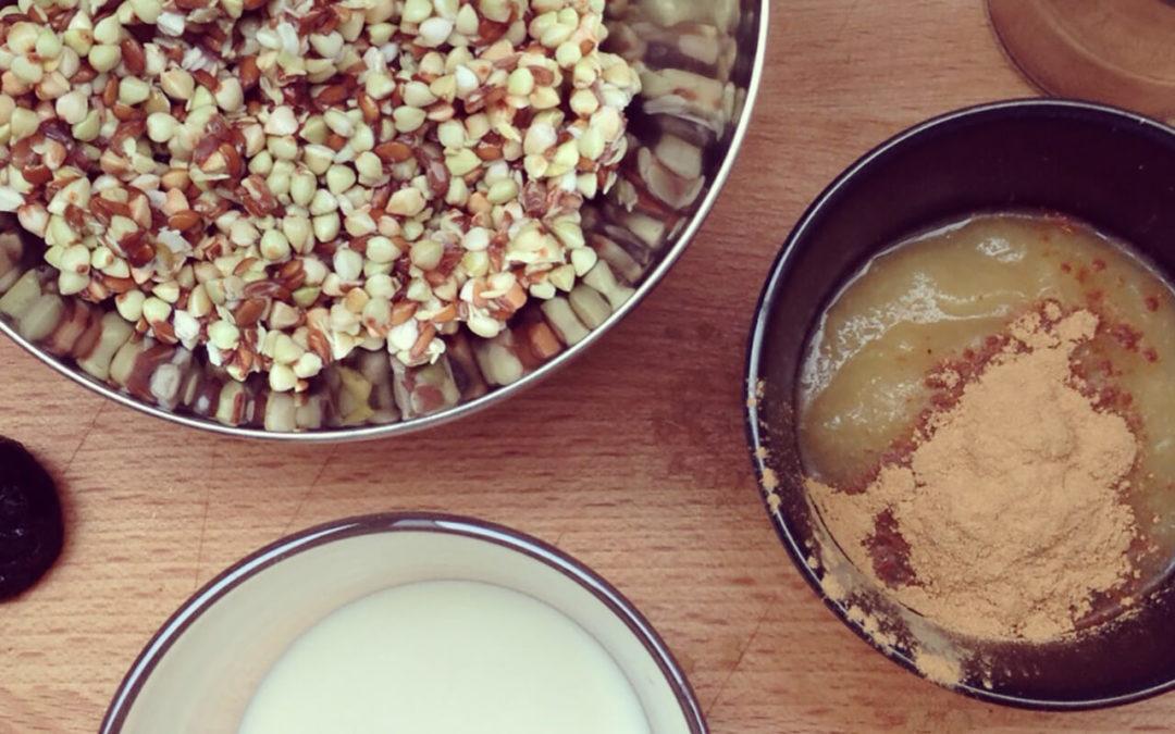 Crème de sarrasin pomme & pécan