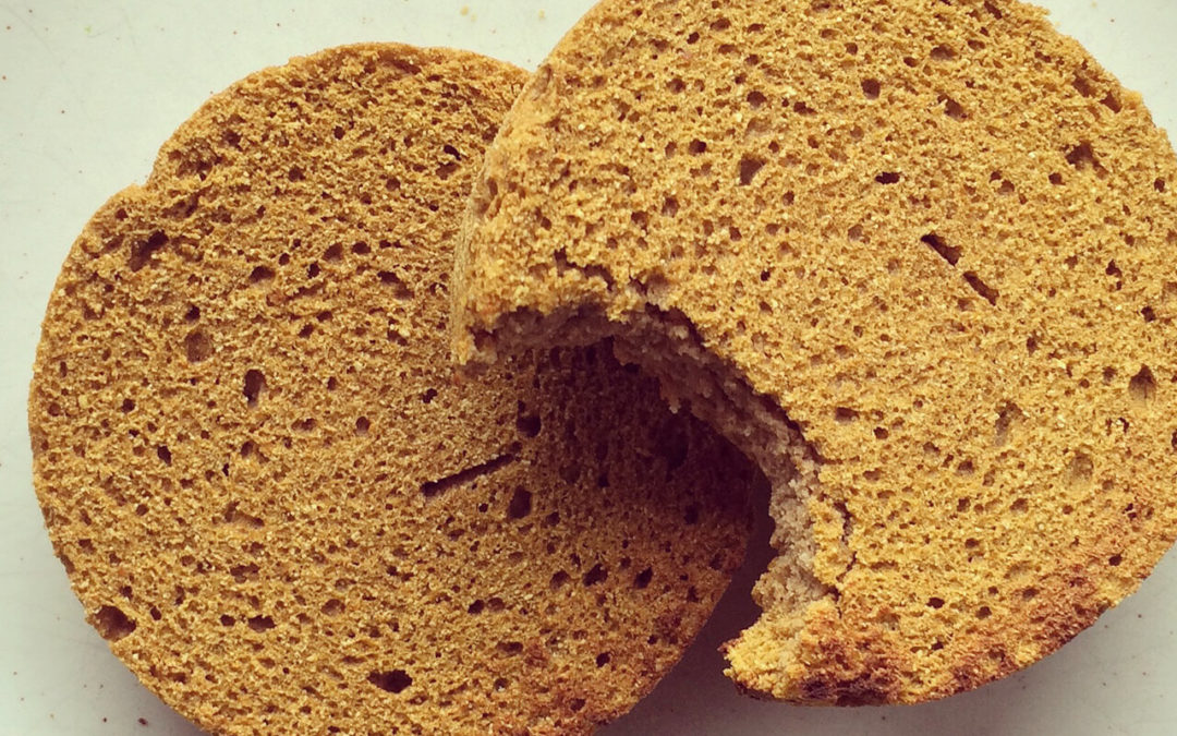 English muffins sans gluten à la courge