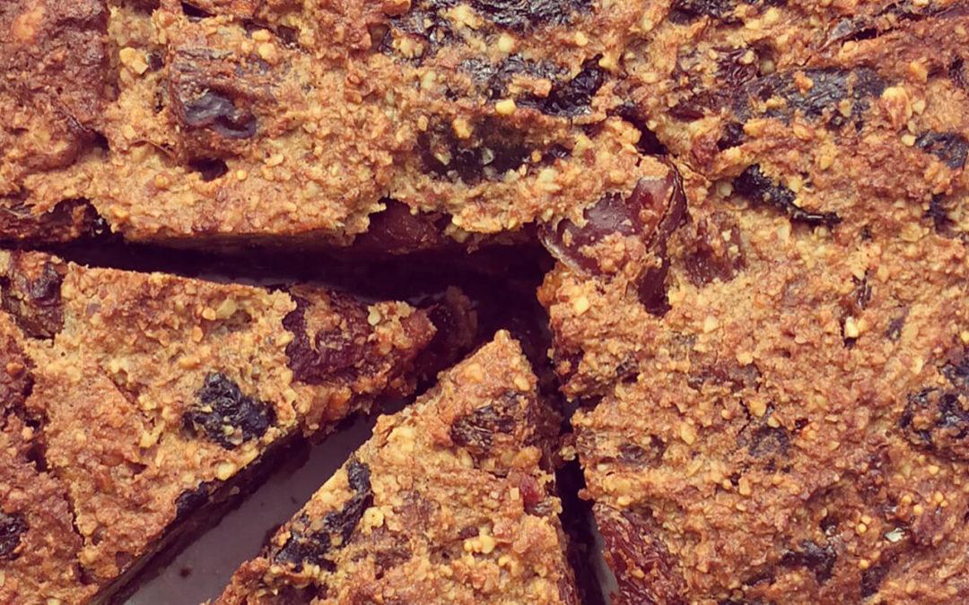Gâteau de fruits secs aux amandes