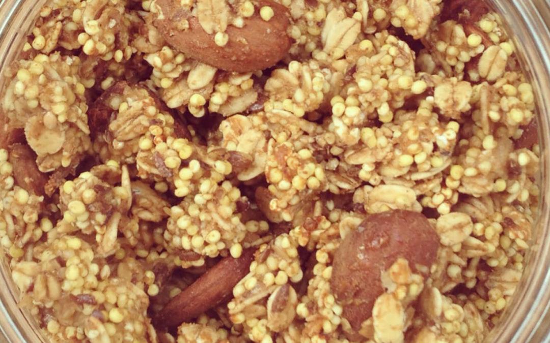 Granola protéiné au millet