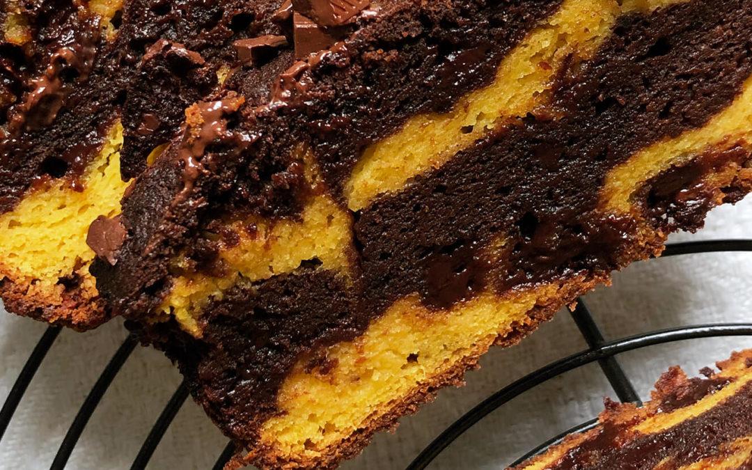 Marbré courge & chocolat