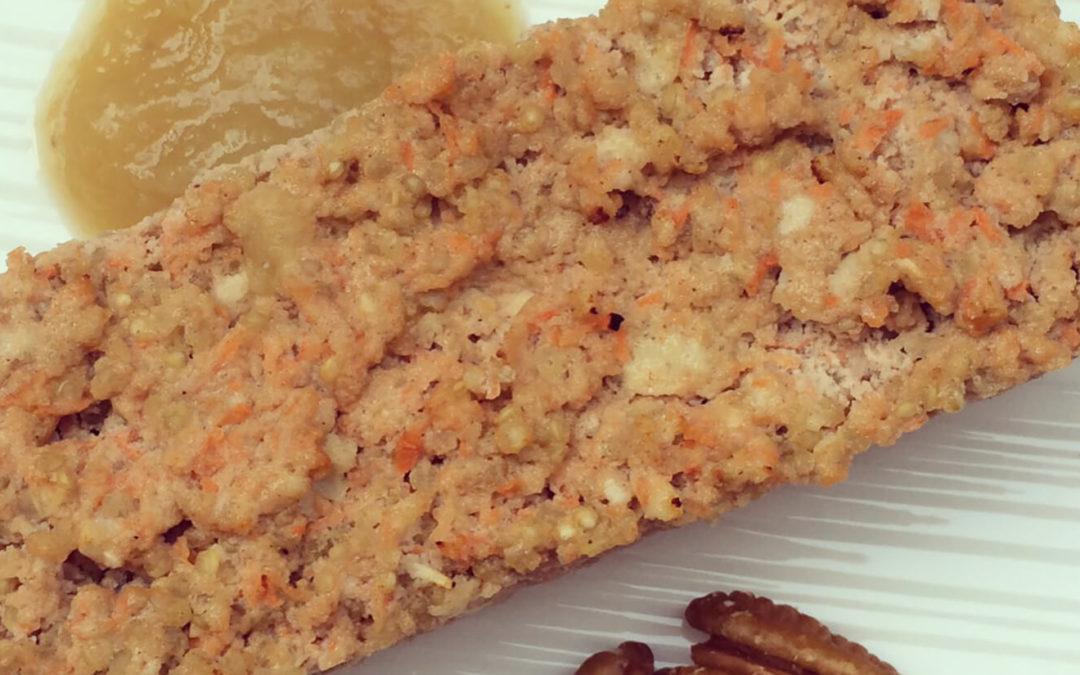 Mini-cake protéiné carottes & quinoa