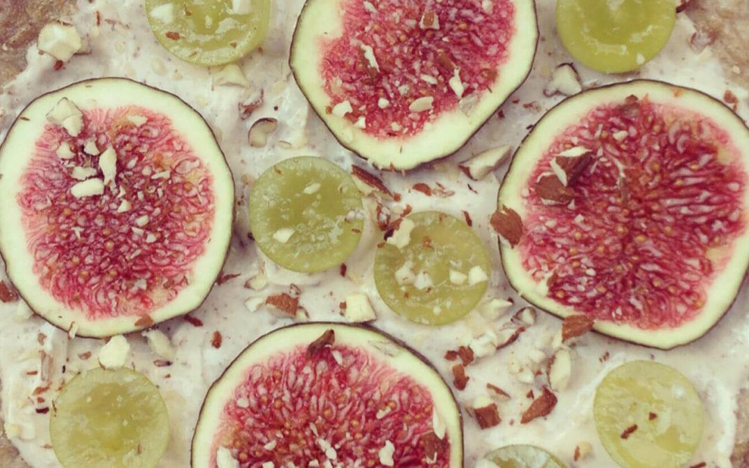 Omelette sucrée figues & raisins