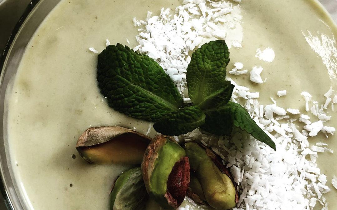 Shake protéiné pistache & coco