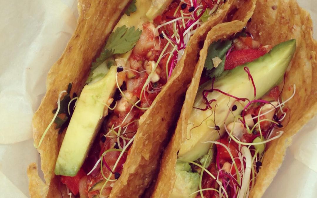 Tacos aux légumes & à l'avocat