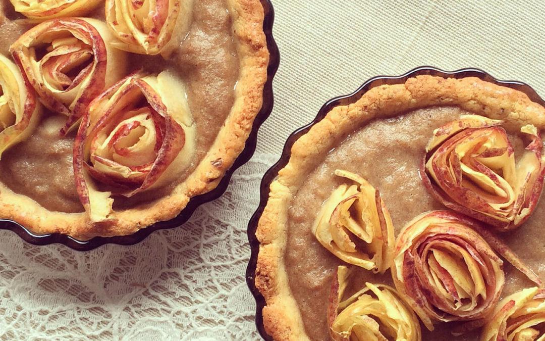 Tartelettes aux pommes protéinées