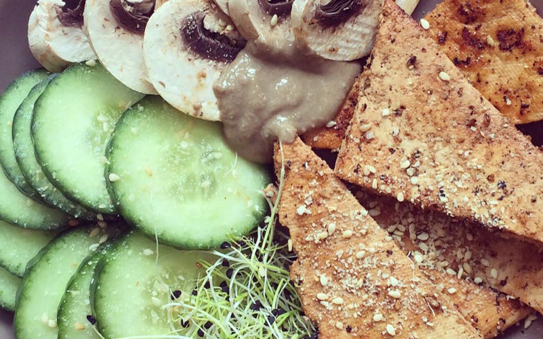 Tofu grillé soja & sésame