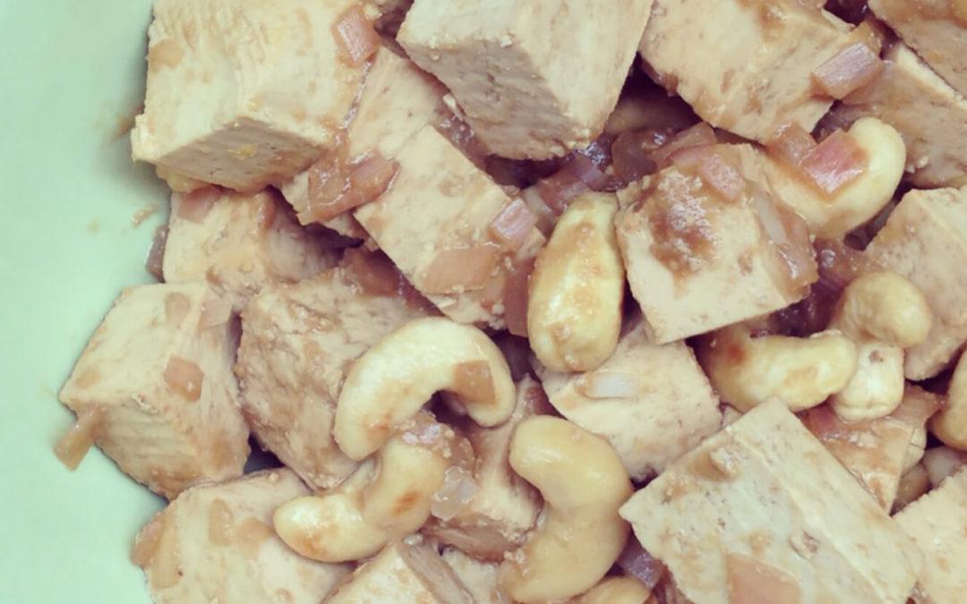 Tofu aux noix de cajou & gingembre