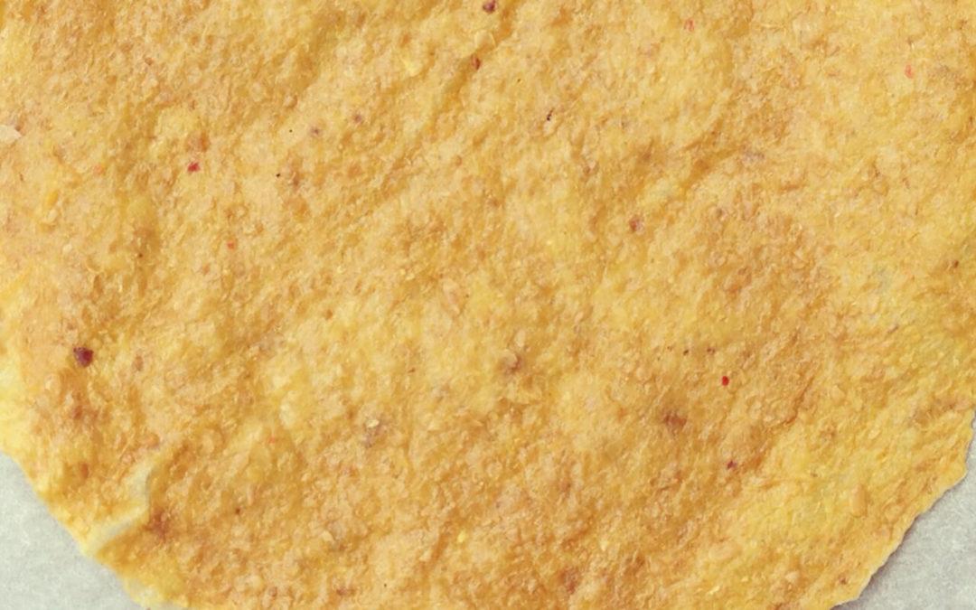 Tortillas de maïs aux graines de lin