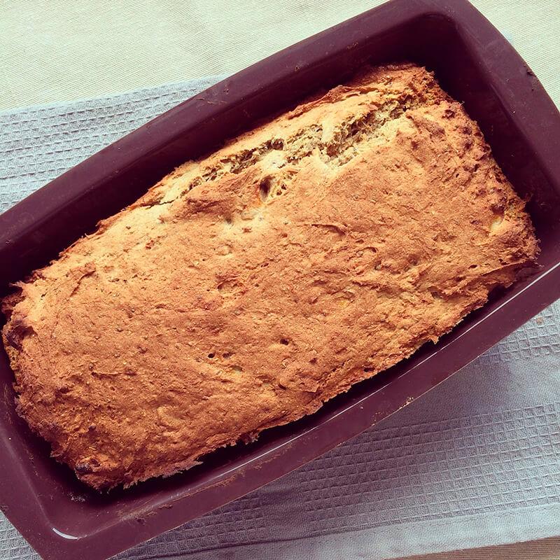 Barres protéinées banane & avoine au chocolat
